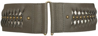 Stud Twist Stretch Belt - Studded Belt