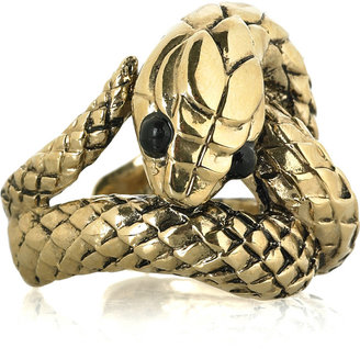 Roberto Cavalli Serpent ring - Decorative Rings