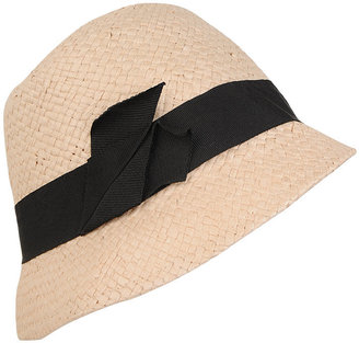Cloche Straw Hat - Straw Hat