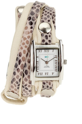 La Mer Animal Skin Wrap Watch - Wild Watches