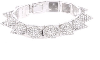CC Skye Silver Pave Punk Princess Spike Bracelet - Dress Like Kimberly Wyatt
