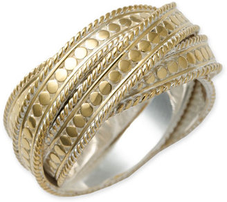 Anna Beck &#39;Timor&#39; Twist Ring - Engraved Ring