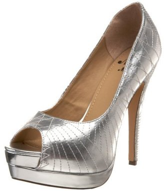 Miss Me Women's Jocelyn-22 Platform Pump - Peep Toe Pumps