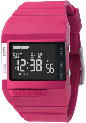 DIESEL &#39;Digital Color&#39; Watch - Pink Digital Watches