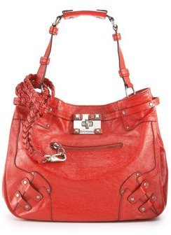 Lock-It Mean It Patent Bag - Shoulder Bags