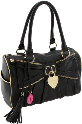 Betsey Johnson 'Heart of Gold' Satchel - Handbags