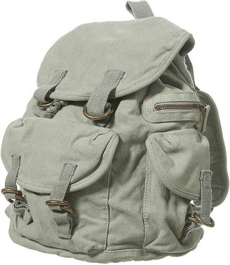 Canvas Multi Pocket Backpack - Backpacks