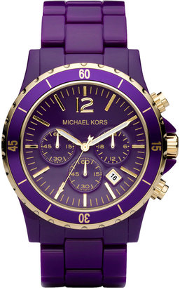MICHAEL KORS Oversized Acrylic Watch - Must Have Michael Kors Watches