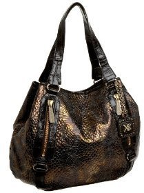 MAXX NEW YORK Loren Convertible Tote - Metallic Tote