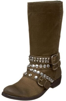 Ash Women's Cult Flat Boot With Ornaments - Fall Boot Trends
