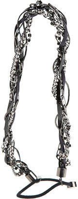 Eugenia Kim Braided Headband - Gunmetal - Accessories