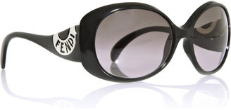 Fendi Acetate-frame oval sunglasses - Sunglasses