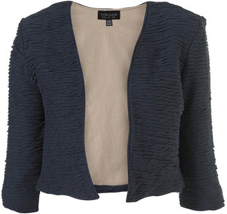 Ripple Edge Crop Jacket - Topshop
