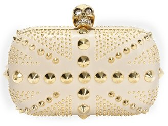 Studded Brittania Clutch - Dress Like a Celebrity