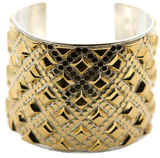 Anna Beck Java Diamond Studded Large Cuff - Jewelry