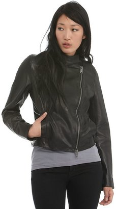 DKNYC Distressed Motorcycle Jacket - Moto Jacket Fashion 