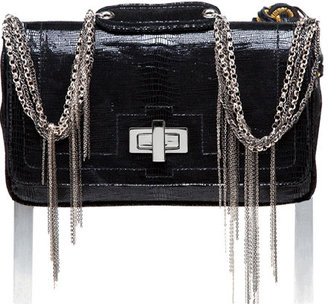 CC Skye Bridgette Chain Strap Turn Lock Bag in Black - Get This Look-Jessica Alba
