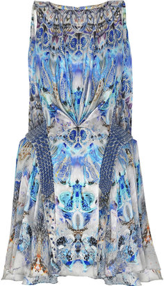 Alexander McQueen Jellyfish-print silk dress - Selita Ebanks&#39; Designer Faves
