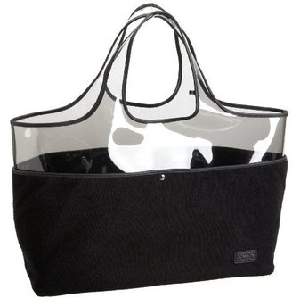Echo Terry Small Plastic Handheld Tote - Handbags