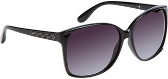 Marc by Marc Jacobs Round Sunglasses - Black - Marc Jacobs Sunwear