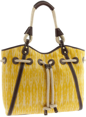 Raf New York &#39;Katherine  Ikat Large&#39; Tote - Rope Embellishments
