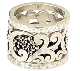 Lois Hill Swirl Ring Set - Wedding Rings