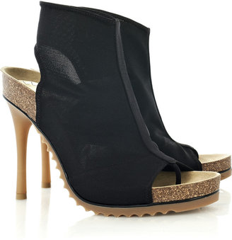 Stella McCartney Mesh open-toe ankle boots - Boots