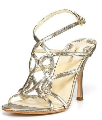 Max Studio &quot;Semel&quot; Patent High Heel Sandals - Evening Sandals
