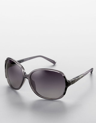 Armani Exchange Oversized Rectangle Sunglasses - Sunglasses
