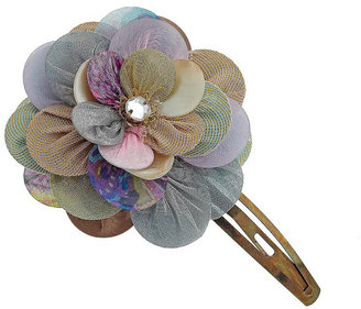 Fabric Flower Clip - Hair Pin