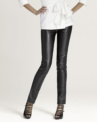 The ooh-la-luxe leather legging - Clothes