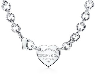Return to Tiffany Heart tag choker - Choker Necklace
