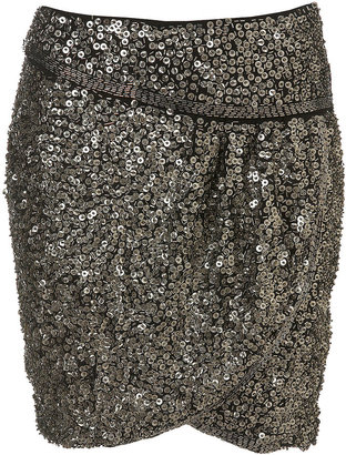 Premium Sequin Drape Skirt - Dress Like a Celebrity