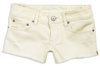 AE Lemon Denim Shortie - Clothes