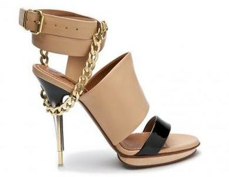 Lanvin Belted Sandal with Chain - Great Chains
