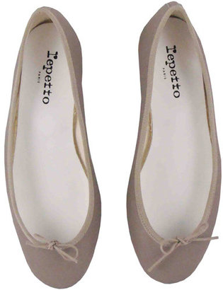 Repetto Bb Perforated Ballet Flats In Dust - Shoes