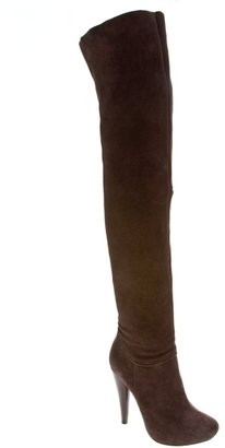 N.y.l.a. Petula Suede Over The Knee Platform Boot - Fall Boot Trends