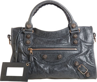 Balenciaga Arena Giant City - Anthracite - Leather Tote