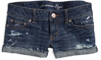 AE Painted Denim Shorties - Jeans