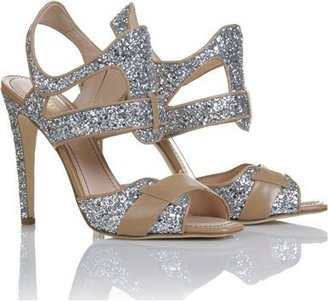 Jerome Rousseau Bastille Glit Sandals - Evening Sandals