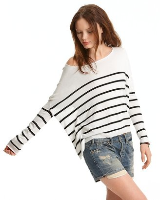 Vince Striped Cashmere-Blend Sweater - Vince