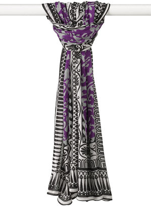 Brazen Border Print Scarf - Brazen