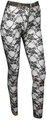 Metallic Lace Leggings - Pajamas &amp; Intimates