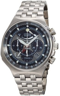 Citizen Men's AV0021-52H Eco-Drive Titanium Calibre 2100 Watch - Dress Like Robert Pattinson