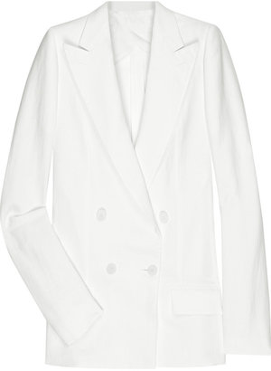 Bottega Veneta Linen-blend blazer - Clothes