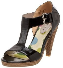 Madden Girl Women&#39;s Dwindle Hi Heel Platform Ankle Strap Sandal - Heels