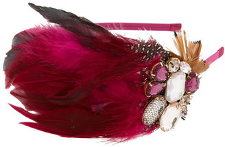 Tasha Feather Headband - Feathered Headbands 
