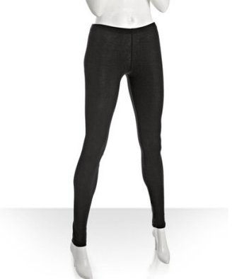 Splendid black cotton-modal jersey snap ankle leggings - Pants &amp; Shorts