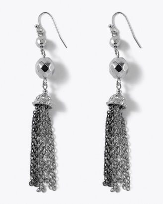 Multi-Chain Tassel Earring - Jewelry
