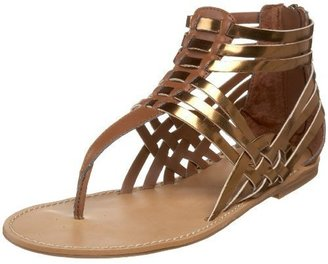 GUESS Women&#39;s Succeed3 Flat Sandal - Summer&#39;s Hottest Gladiator Sandals